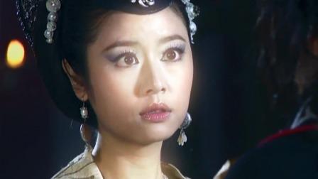 妲己摘下大王的面具那一刻,大王看到她脸上的表情,吓得急忙躲避