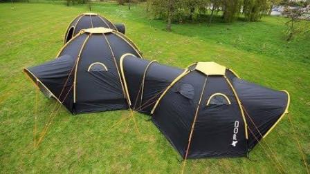 6个炫酷的帐篷发明——(2倍速)