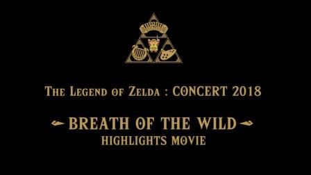 《塞尔达传说:音乐会 2018》精彩节选,《塞尔达传说:旷野之息》发售两周年纪念