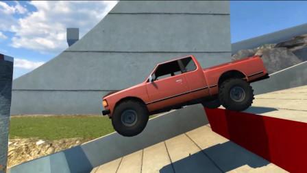 【BeamNG模拟汽车】碰撞模拟  模拟大碰撞!