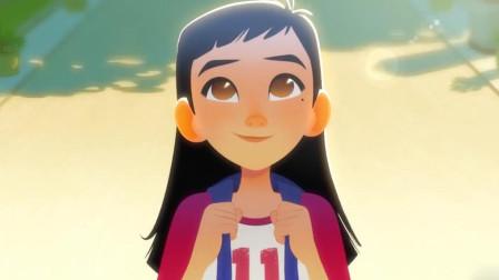 整部短片仅仅只有7分钟,却完整地讲述了一个小女孩实现梦想的感人故事