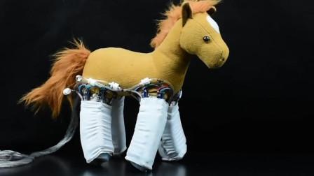 新型机器人皮肤,能让假肢产生触觉,玩偶套上立马动起来