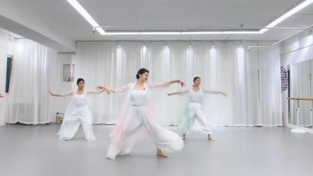 小影老师《丽人行》第一节课,这个是我目前看过非官方跳得最好的