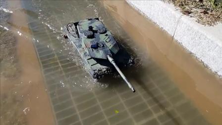 恒龙 1/16 3889-1 Leopard 2A6 遥控坦克车