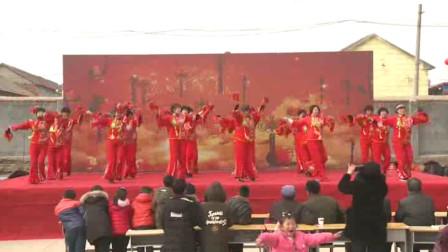 春移官庄社区庆春节文艺汇演-广场舞:正月十五闹花灯