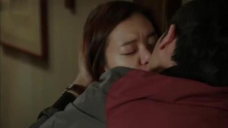 韩剧热播, 久别重逢情难抑, 激烈拥吻皆不语