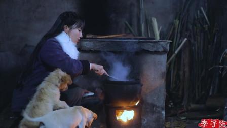 李子柒古香古食 第二季 第7集 天冷少不得来顿酒肉,就爱这醇厚酸味,酸萝卜老鸭汤