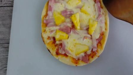 电饭煲也能做披萨,味道美极了 比用烤箱烤的还香