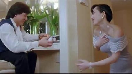 成龙大哥与李连杰老婆演的这段戏,百看不厌