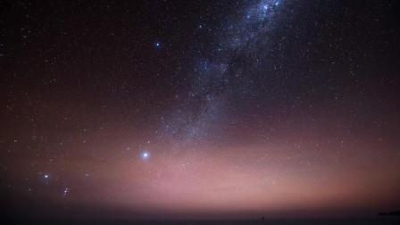 南极之夜-美丽极光