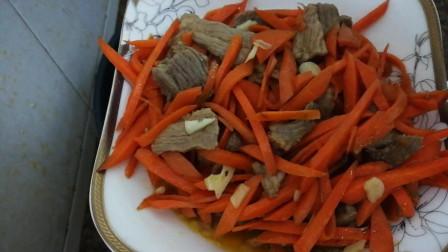 胡萝卜丝炒肉的做法视频大全 胡萝卜丝炒肉怎么做好吃 美食菜谱
