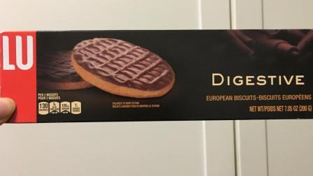 【团子的吃喝记录】法国零食LU露怡:巧克力曲奇饼干(更多图片评论在微博:到处吃喝的团子)