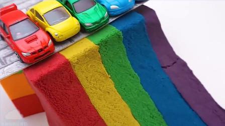 牛奶冰淇淋 学习颜色动力学沙车玩具