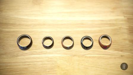 这个戒指有点牛 木头做的还能闪闪发光 模样堪比指环王