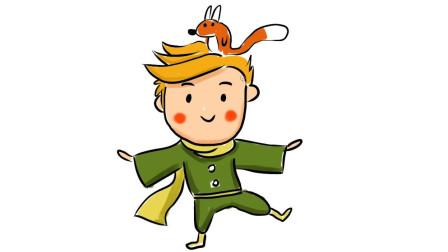 小范亲子简笔画 教大家画一个会魔法的可爱小男孩卡通简笔画