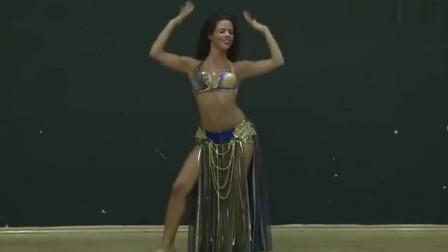 肚皮舞:不能错过的肚皮舞表演,这个女孩子跳的太棒了,动感与柔美并存