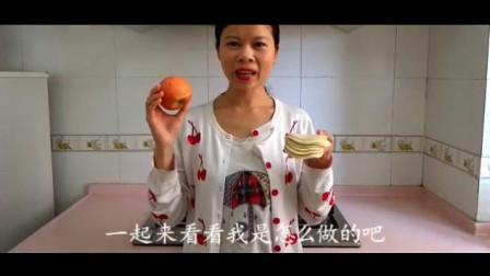 苹果加1叠饺子皮百吃不厌做法,我家一周吃6次,每次孩子都吃光(1)