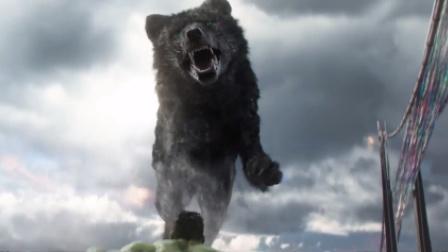 竖版:《雷神3:诸神黄昏》浩客大战死亡之犬 雷神觉醒爆发威力