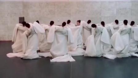古典舞《丽人行》走红网络,伴奏改成双面燕洵完美契合