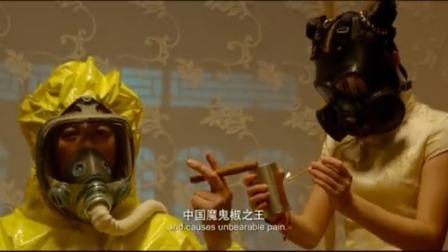 龙师傅做了一道菜,旁人直接戴上了防毒面具,还要张阿姨品尝