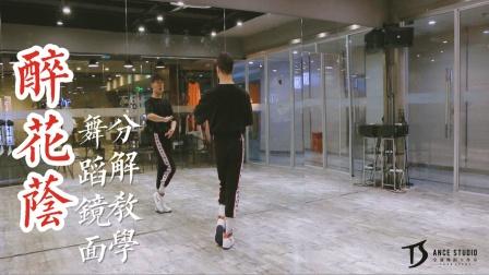 《醉花荫》中国风爵士编舞镜面分解教学【TS DANCE】
