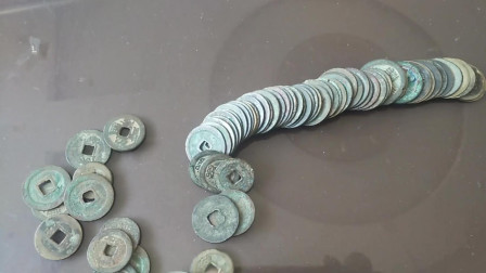 农村小伙学习收藏,这样的铜钱值钱吗?有收藏价值吗?