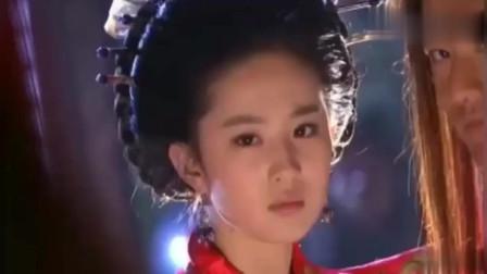 神雕侠侣:刘亦菲褪下红装露出白衫那一刻,简直就是仙女下凡!