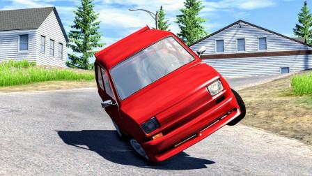 汽车高速行驶油门坏了,这遭遇也太惨!拟真汽车模拟