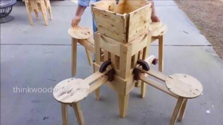 5个巧妙的折叠桌——(2倍速)