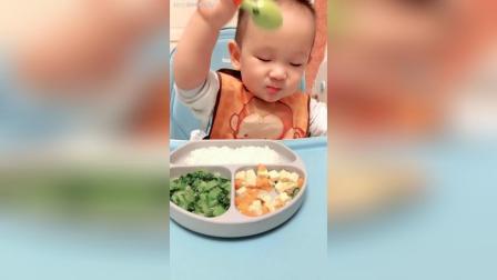 白米饭, 清炒小白菜, 胡萝卜炒豆腐。