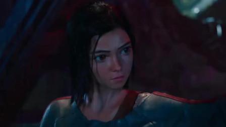 《战斗天使》阿丽塔面对邪恶时绝不会袖手旁观!实在太酷了吧!