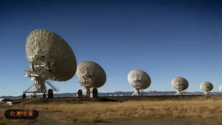 用射电望远镜可以观察两个星系的运动,也印证了太空中力的存在