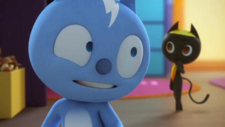 可爱小猫力帕斯与弗特的初相遇!弗特害羞了!