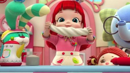 彩虹宝宝带着大家做面条,没想到面条是那么的神奇