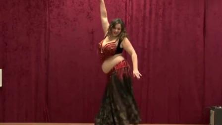 肚皮舞:胖美人的肚皮舞跳得真好!不一样的性感,观众自发打节拍