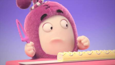 搞笑萌宝奇兵: 这次的生日蛋糕好像没那么好吃呀