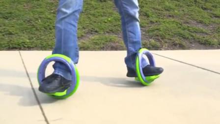 新型出行工具问世,滑板和旱冰鞋合二为一,会替代自行车吗?