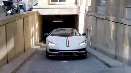 兰博基尼豪车中的豪车,白色车身低调奢华有内涵,好想拥有它!