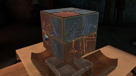 [预览]被魔方难倒的小握 解谜游戏 谜神结局