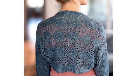 一片式坎肩花样的编织方法,简洁立体,精美大气毛线编织图案