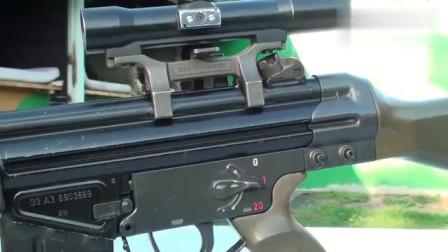H&KG3展示,全方面均衡的武器真是太迷人了!
