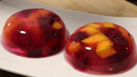 教你水果果冻的做法,无任何添加剂,步骤清晰,讲解详细,新手一看就会