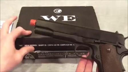 M1911气手枪全方面展示,除了材料,和实枪没有区别!