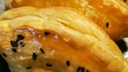 蛋挞皮香蕉派的做法,酥软香甜,零失败做出风味美食!