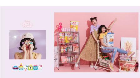 台灣GRACE GIFT又出招 TSUM TSUM春夏時裝系列 散發青春的少女感