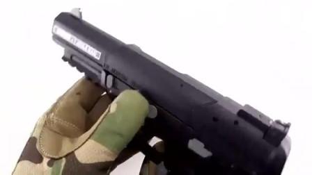 开箱一个气动版FN Five-seveN手枪,打开的瞬间,我就喜欢上它了