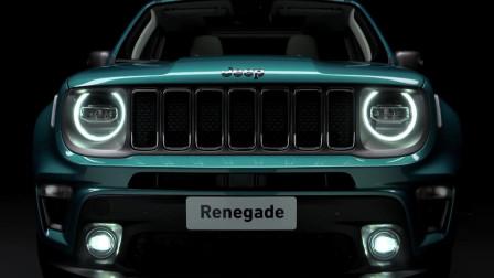 日内瓦车展中亮相的Jeep自由侠,新款色调还是纯电动四驱型!