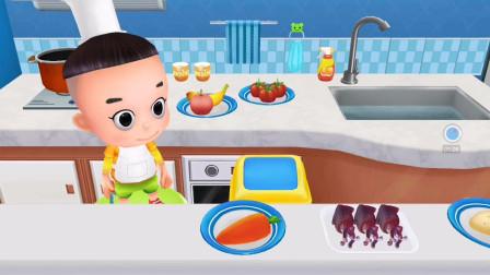 大头儿子小头爸爸之宝宝当家,辨别发霉变质食物!游戏