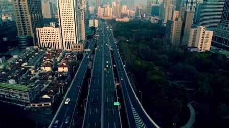 上海|高清航拍,繁华一线大都市,魔都璀璨夜景