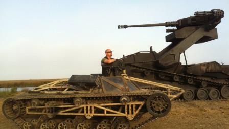 美军开始布局未来机器,时速达100公里,坦克都追不上